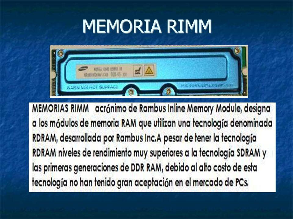 MEMORIA RIMM