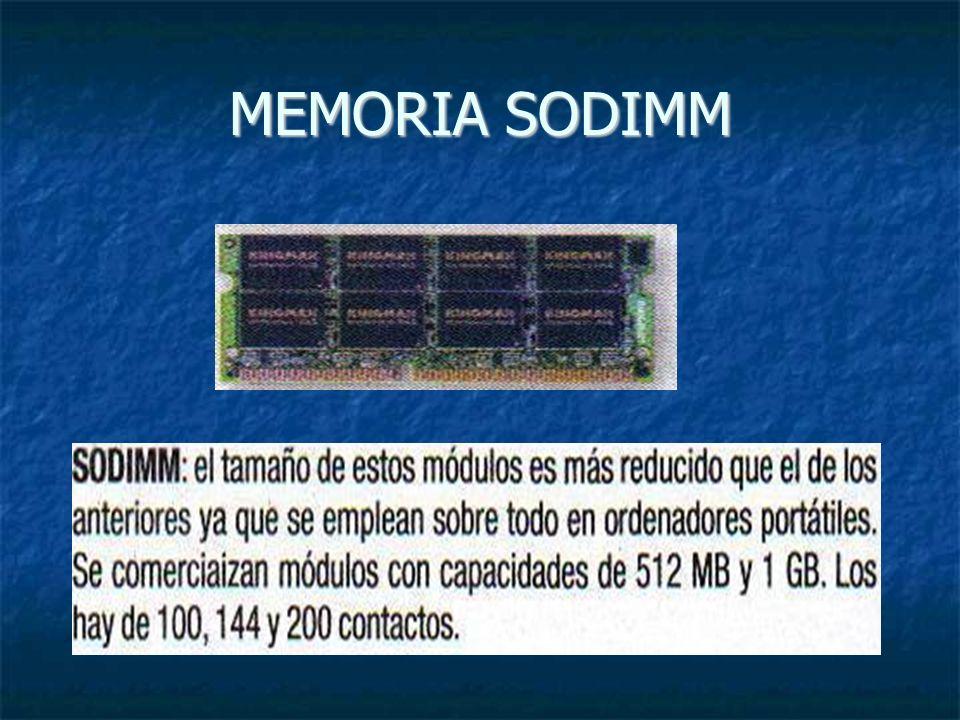 MEMORIA SODIMM