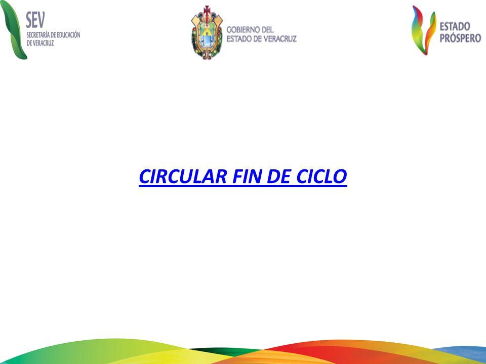 CIRCULAR FIN DE CICLO