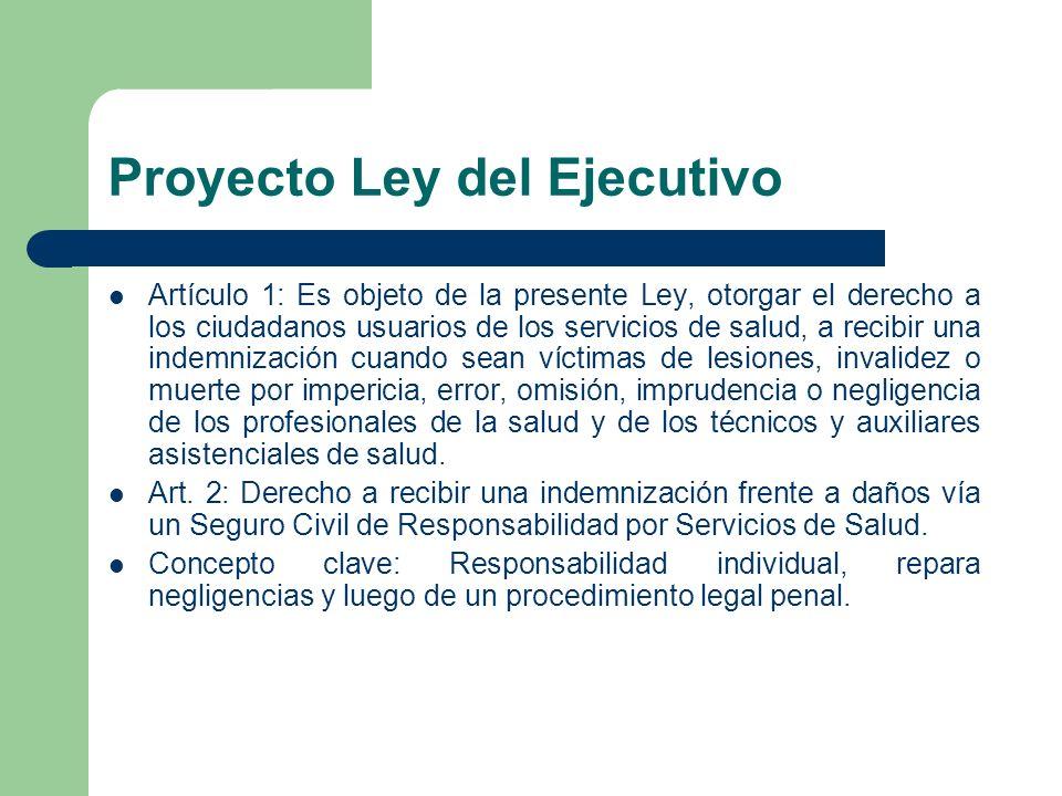 Proyecto Ley del Ejecutivo