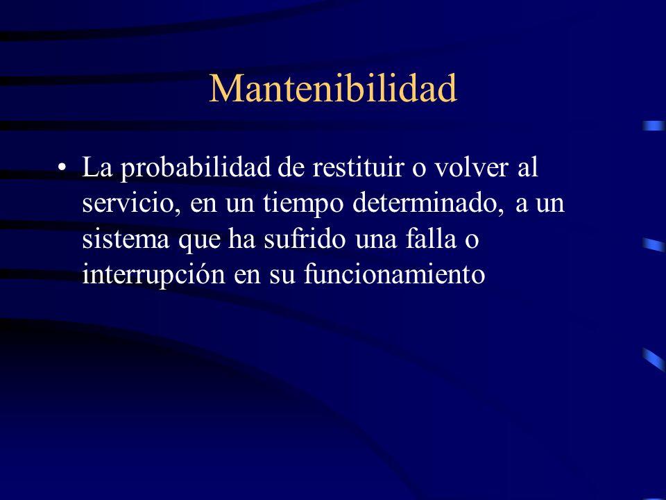 Mantenibilidad