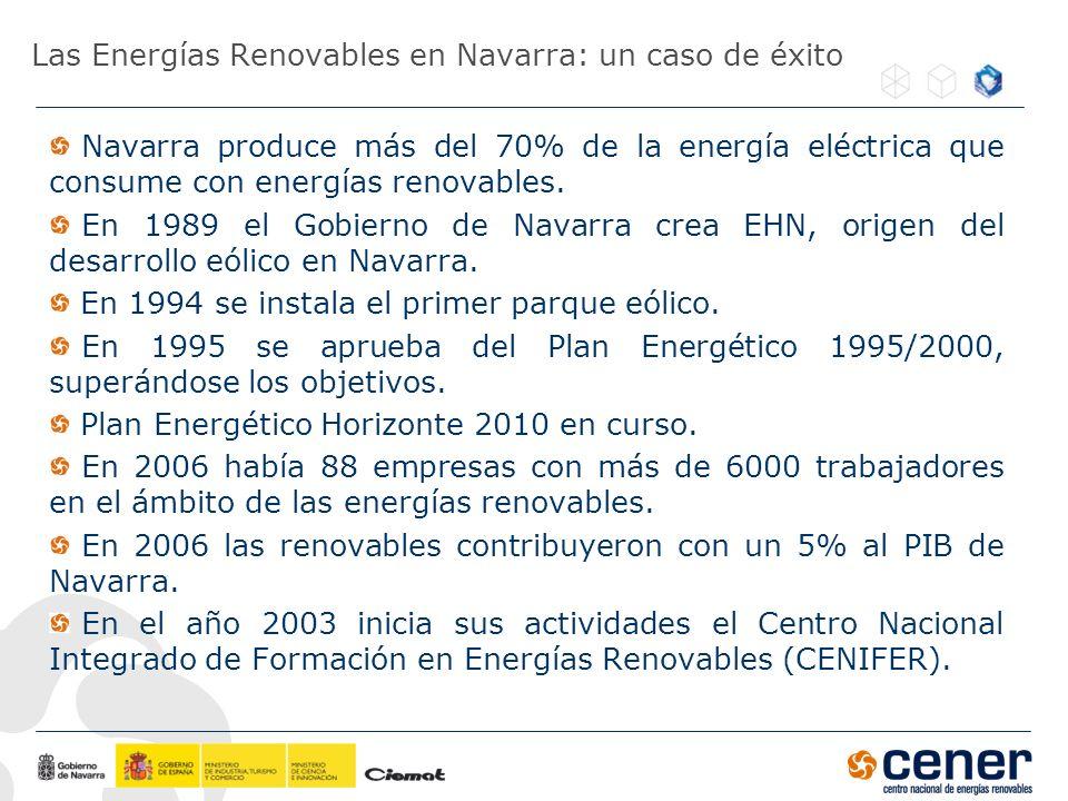 Las Energías Renovables en Navarra: un caso de éxito