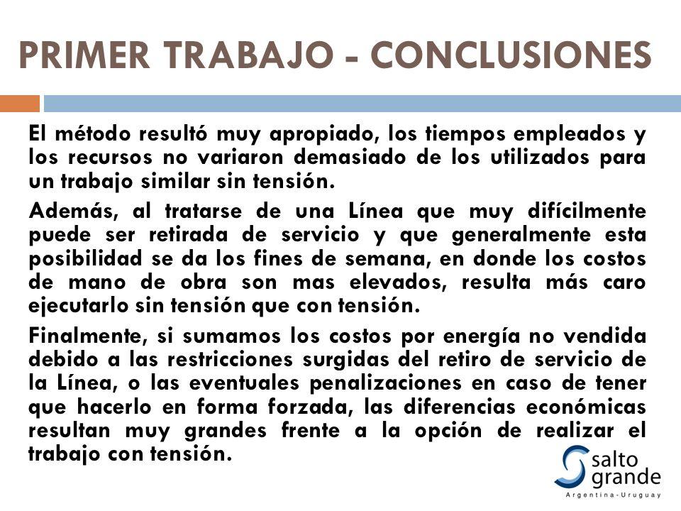 PRIMER TRABAJO - CONCLUSIONES