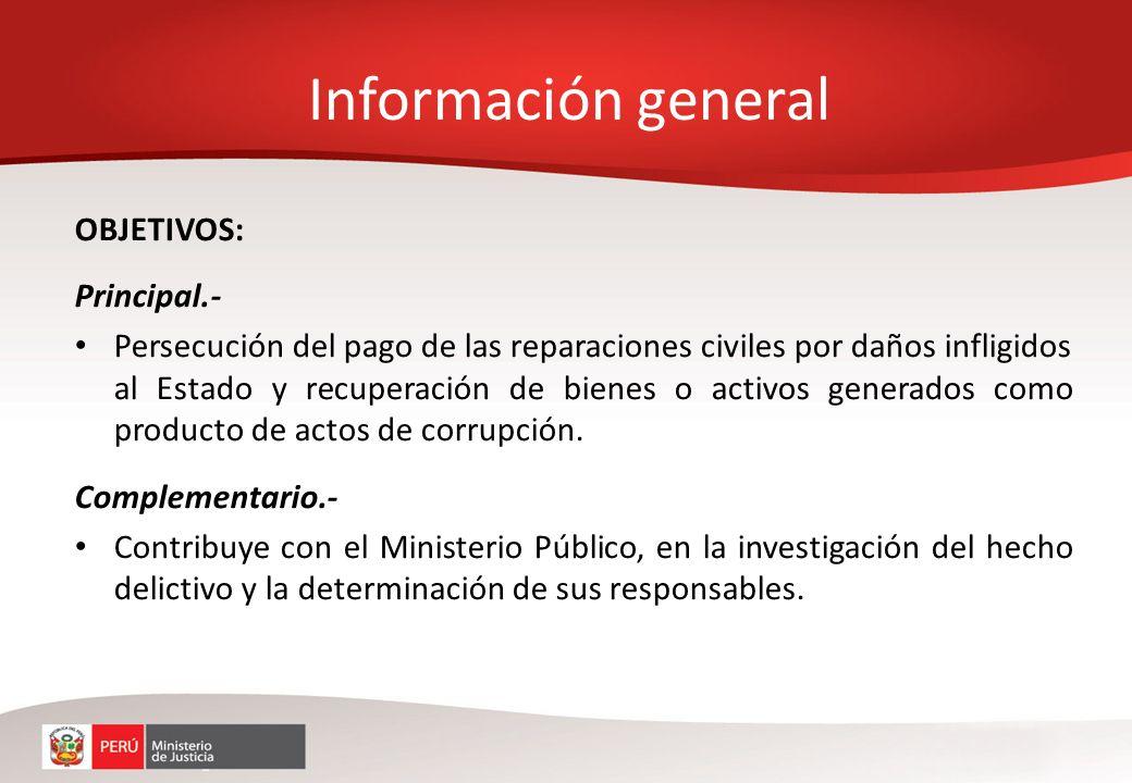 Información general OBJETIVOS: Principal.-