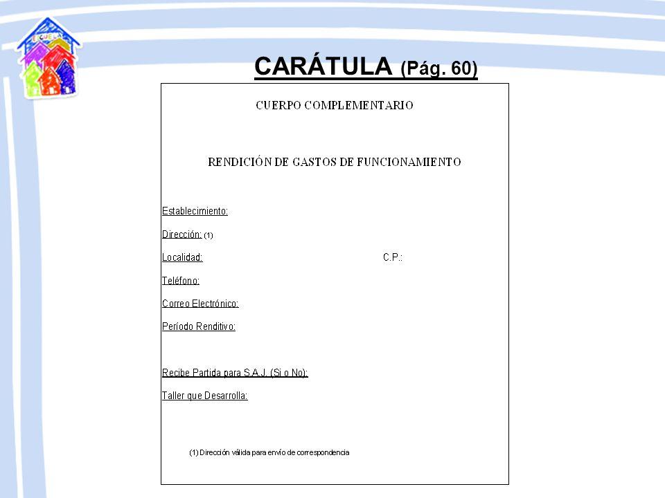 CARÁTULA (Pág. 60)