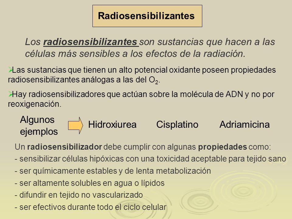 Radiosensibilizantes