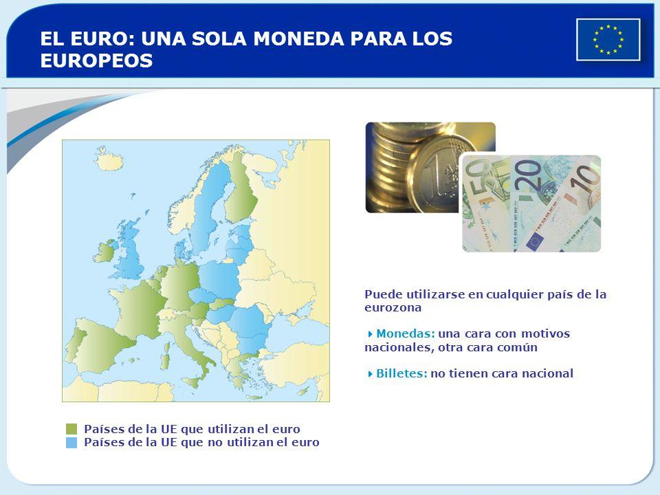 EL EURO: UNA SOLA MONEDA PARA LOS EUROPEOS