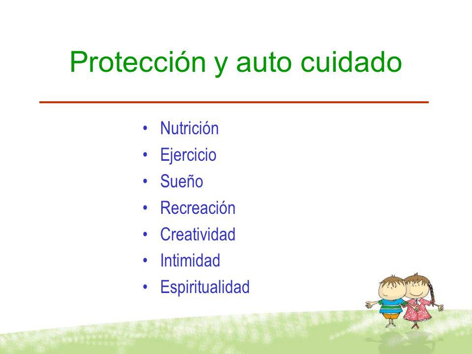 Protección y auto cuidado