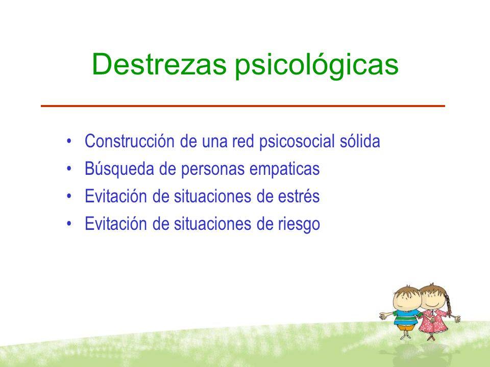 Destrezas psicológicas