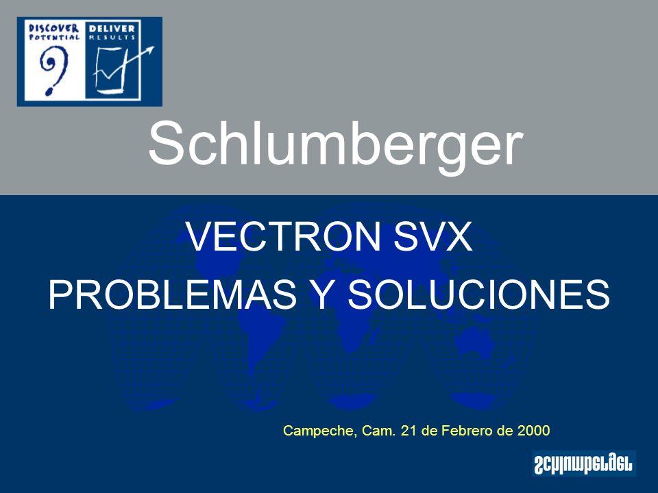 VECTRON SVX PROBLEMAS Y SOLUCIONES
