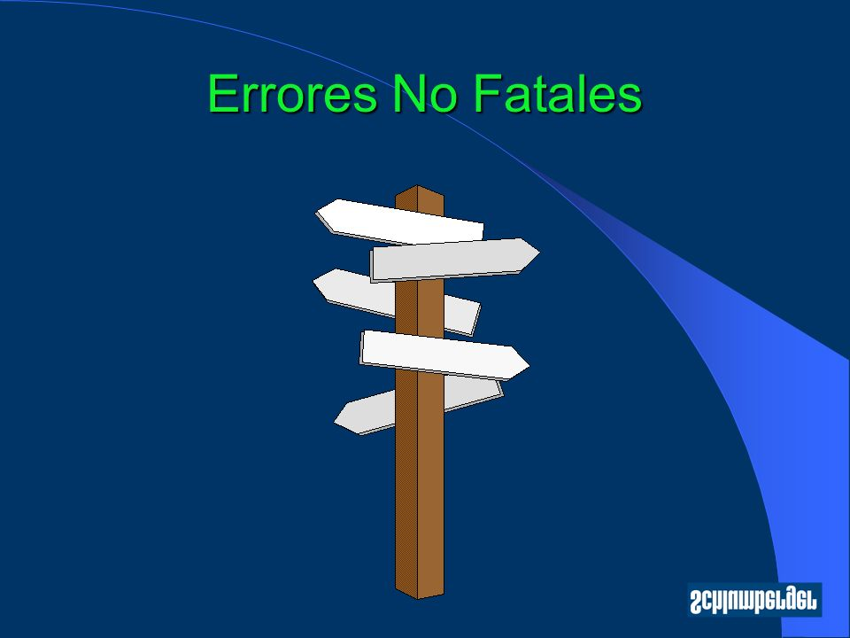 Errores No Fatales