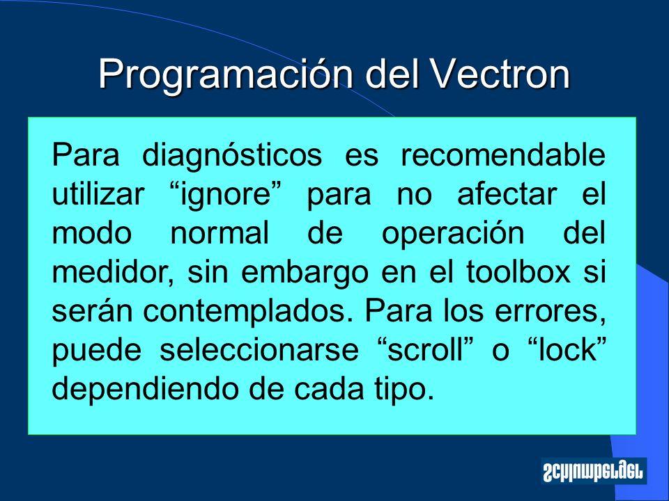 Programación del Vectron