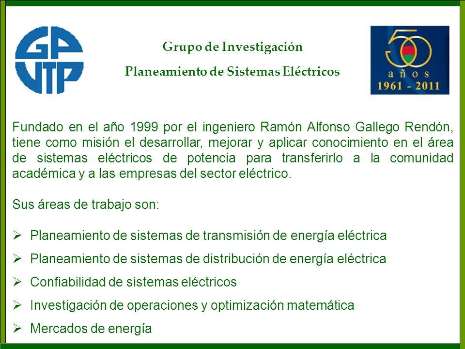 Grupo de Investigación Planeamiento de Sistemas Eléctricos