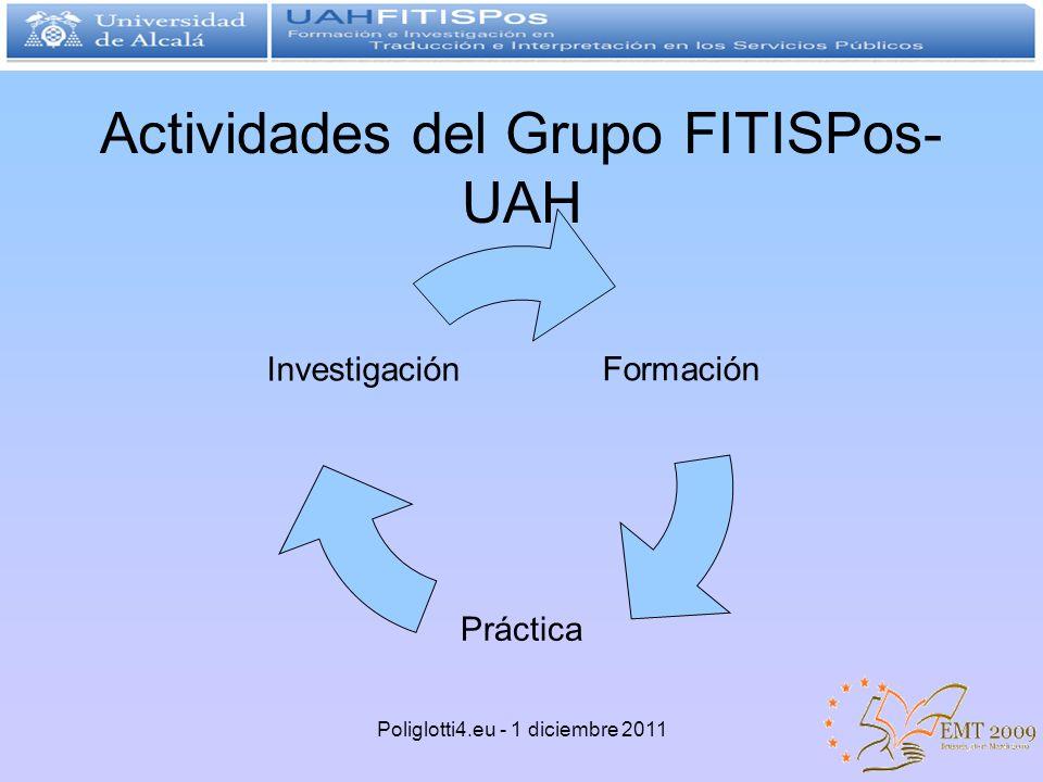 Actividades del Grupo FITISPos- UAH