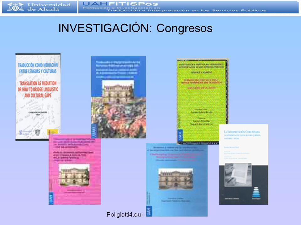 INVESTIGACIÓN: Congresos
