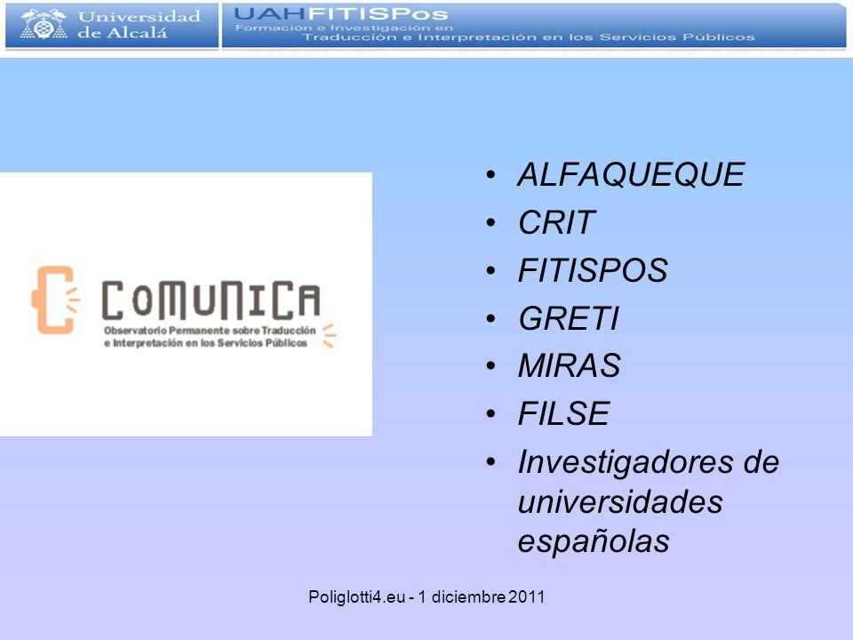 Poliglotti4.eu - 1 diciembre 2011