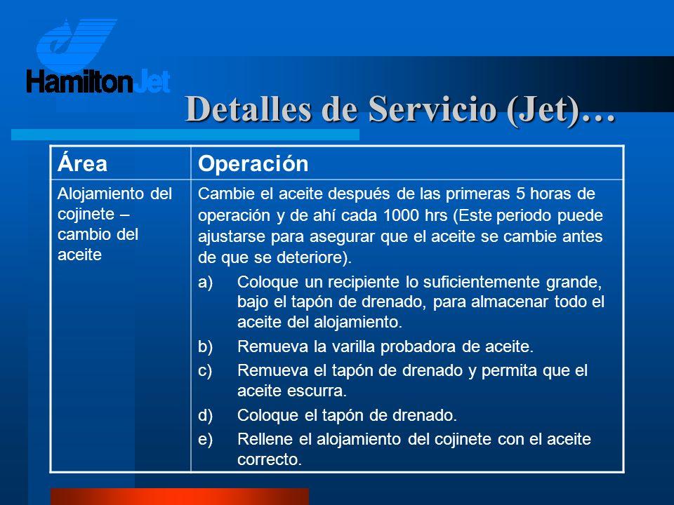 Detalles de Servicio (Jet)…