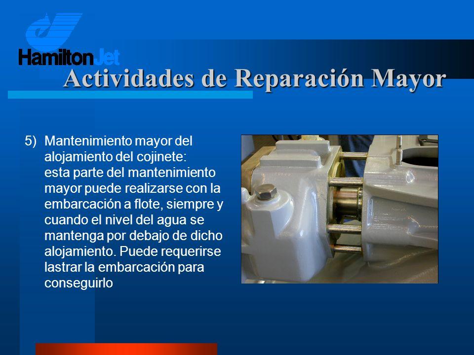 Actividades de Reparación Mayor