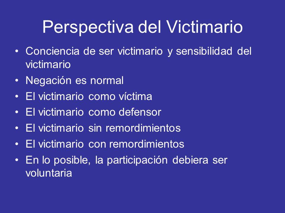 Perspectiva del Victimario