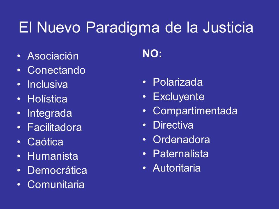 El Nuevo Paradigma de la Justicia