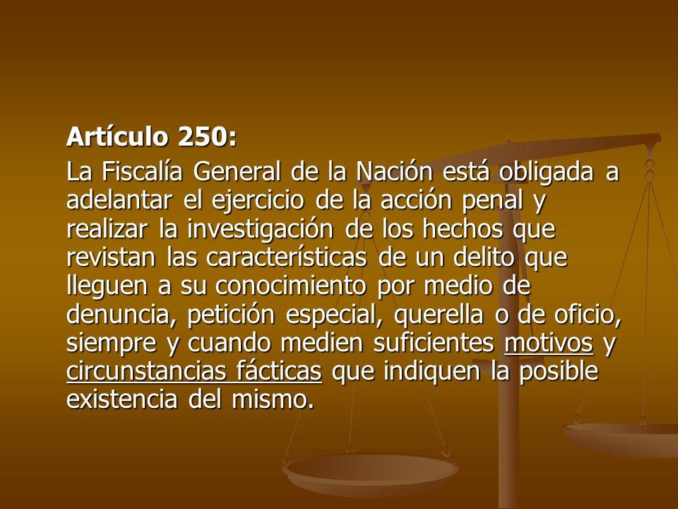 Artículo 250: