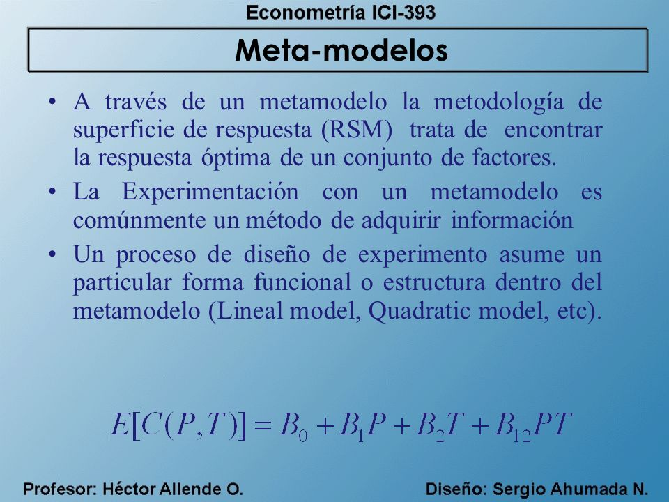 Meta-modelos