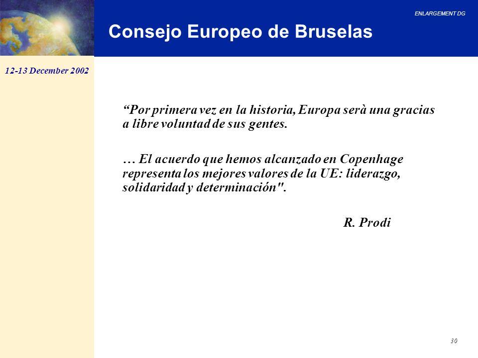 Consejo Europeo de Bruselas