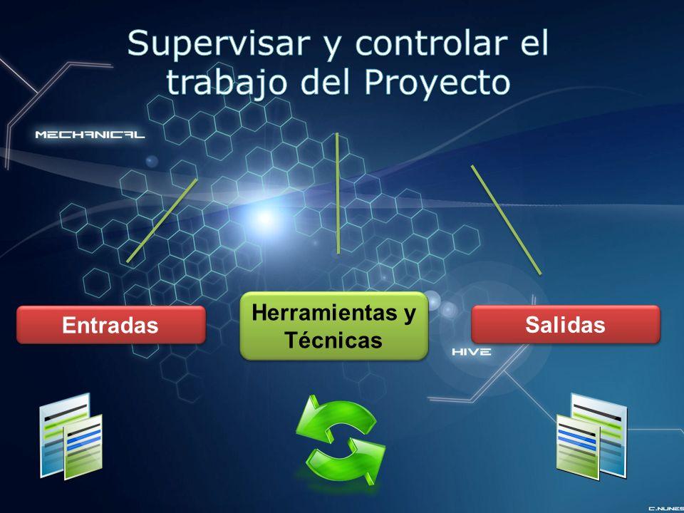 Supervisar y controlar el trabajo del Proyecto
