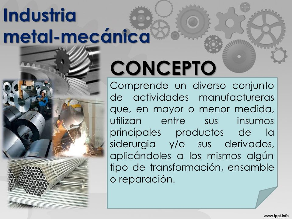 Industria metal-mecánica