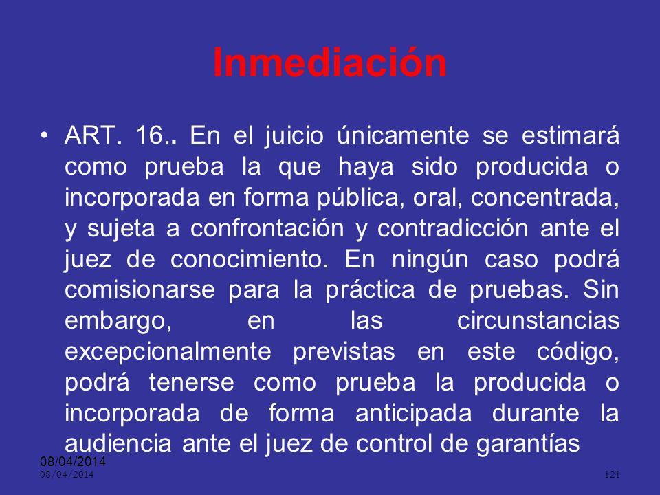 Inmediación