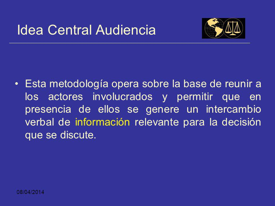 Idea Central Audiencia