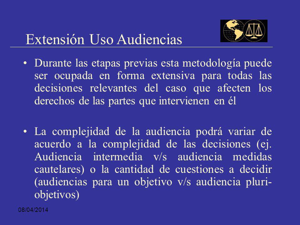 Extensión Uso Audiencias