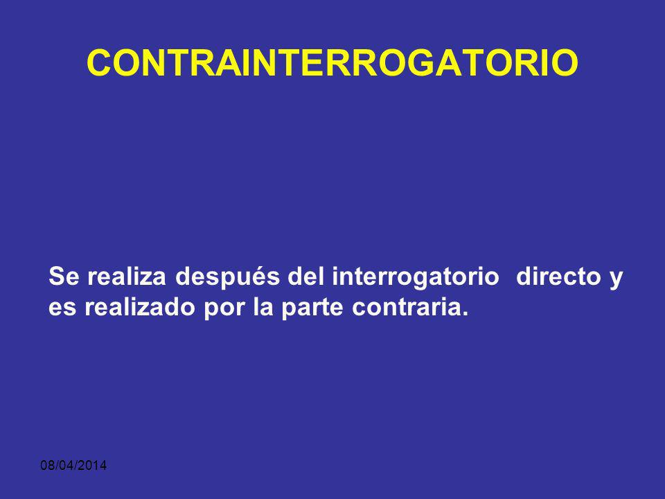 CONTRAINTERROGATORIO