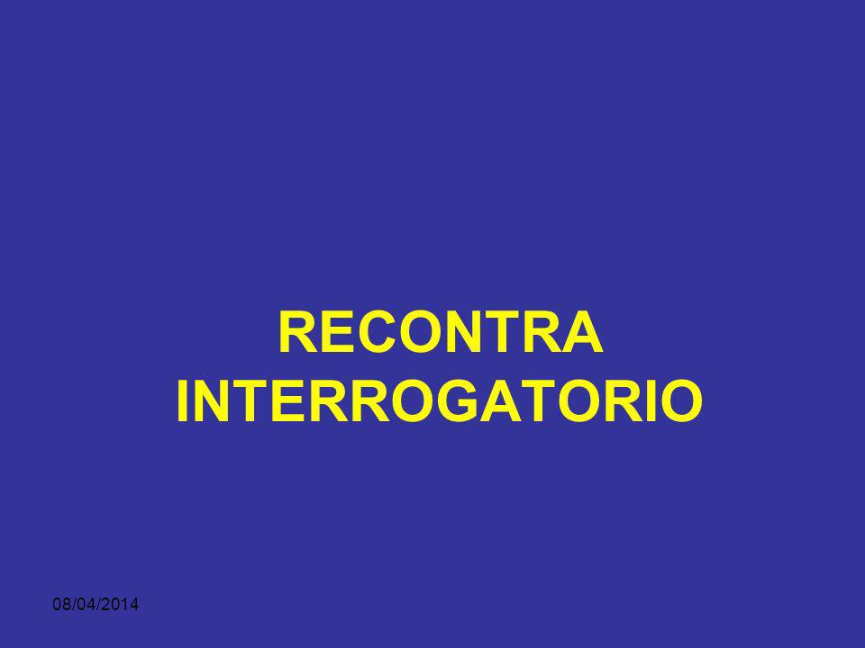 RECONTRA INTERROGATORIO