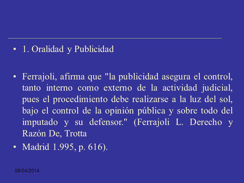 1. Oralidad y Publicidad