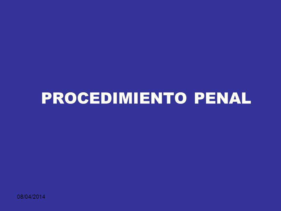PROCEDIMIENTO PENAL 29/03/2017