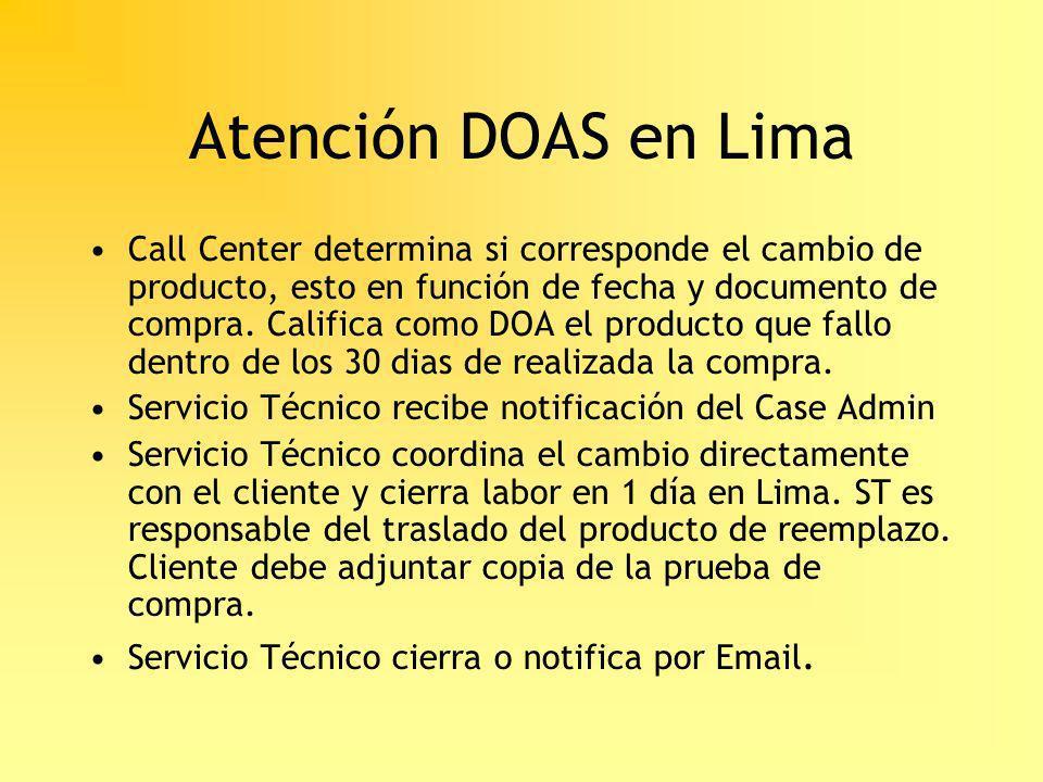 Atención DOAS en Lima
