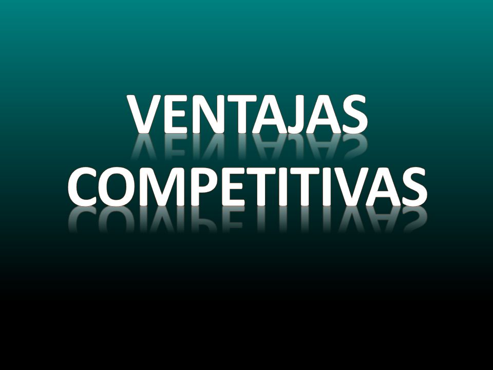 Ventajas competitivas