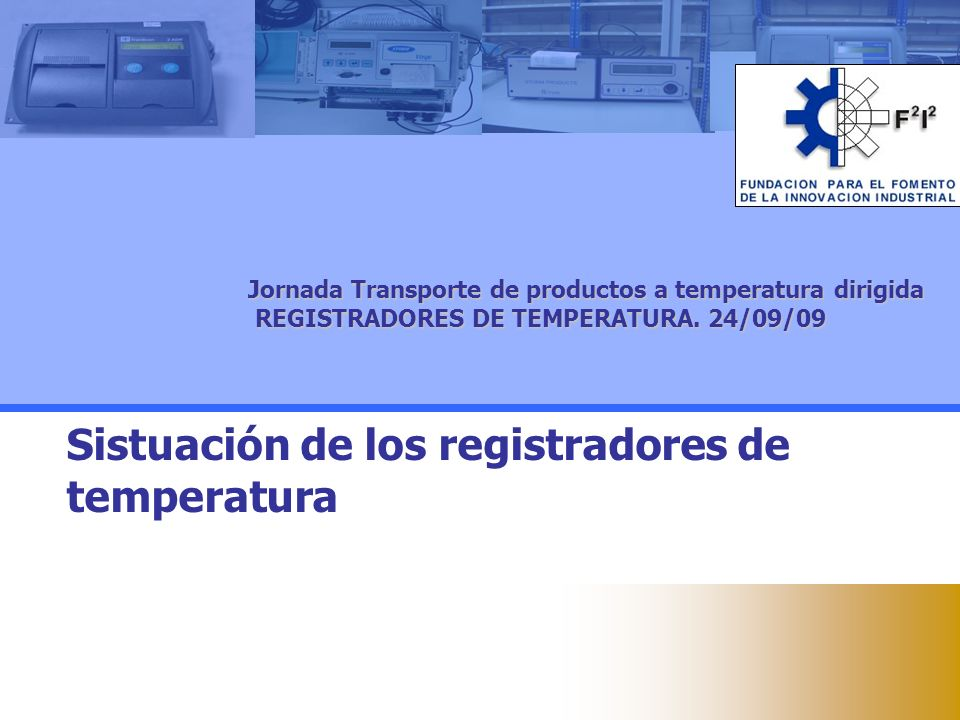 Sistuación de los registradores de temperatura