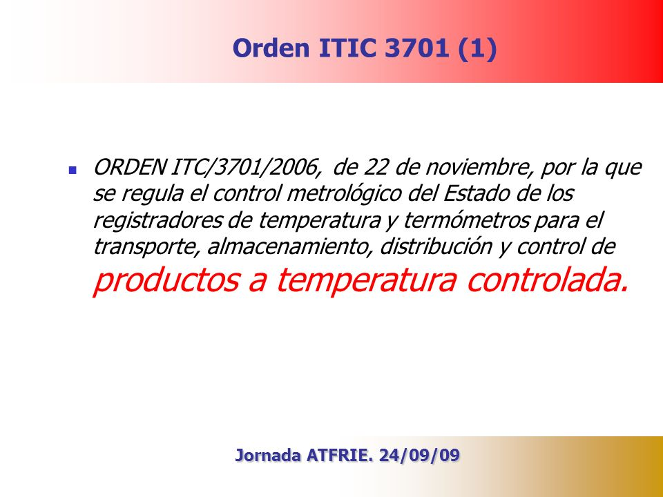 Orden ITIC 3701 (1)