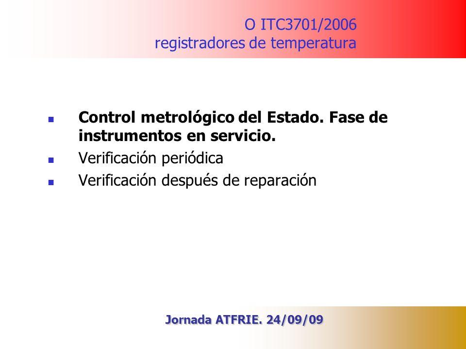 O ITC3701/2006 registradores de temperatura