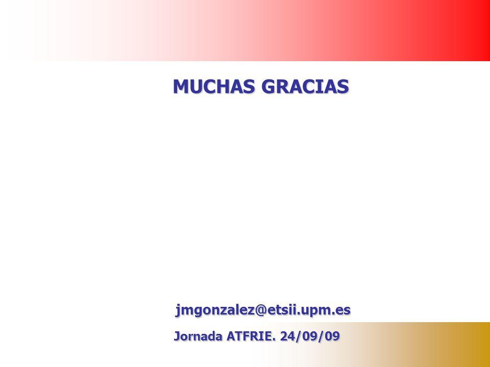 29/03/2017 MUCHAS GRACIAS jmgonzalez@etsii.upm.es