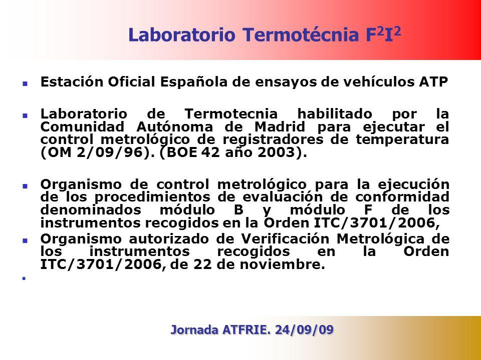Laboratorio Termotécnia F2I2