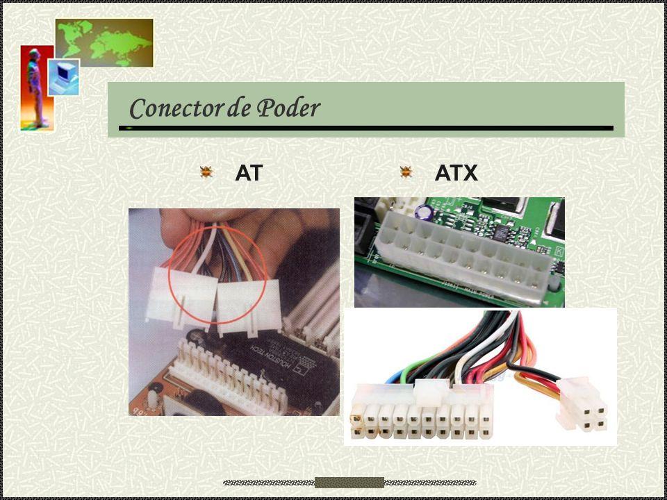 Conector de Poder AT ATX