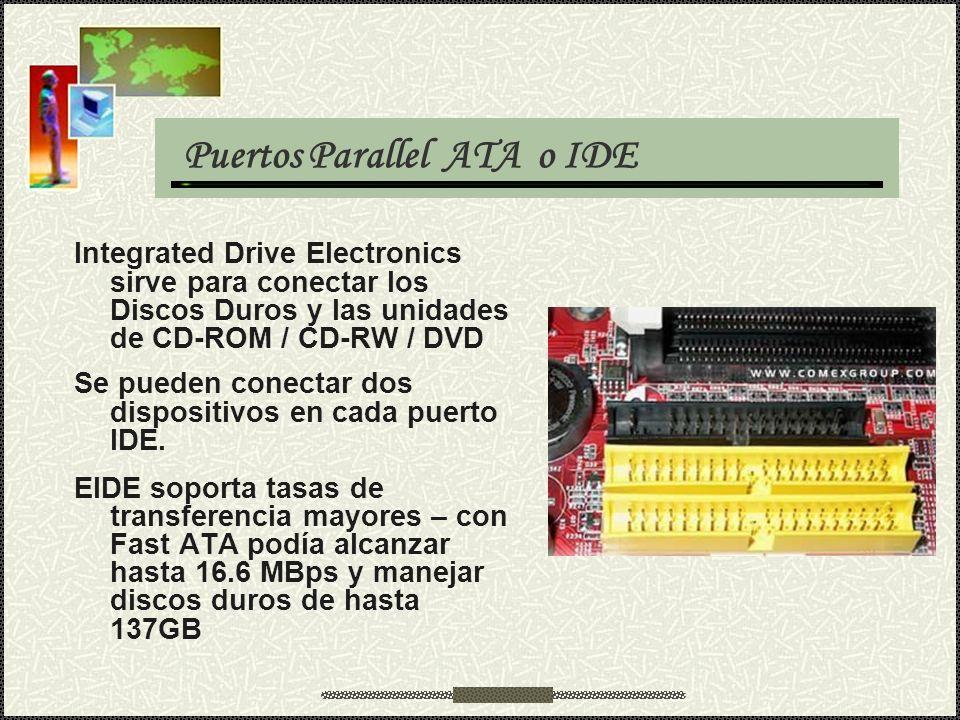 Puertos Parallel ATA o IDE