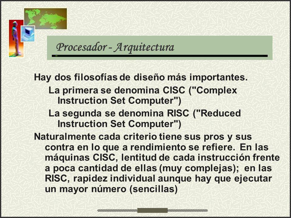 Procesador - Arquitectura