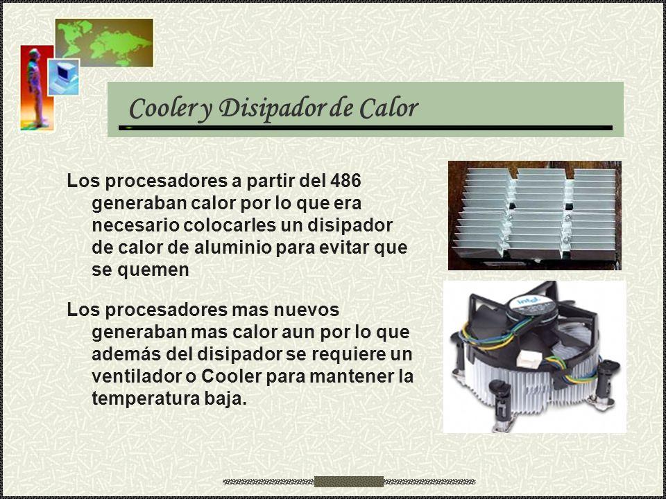 Cooler y Disipador de Calor