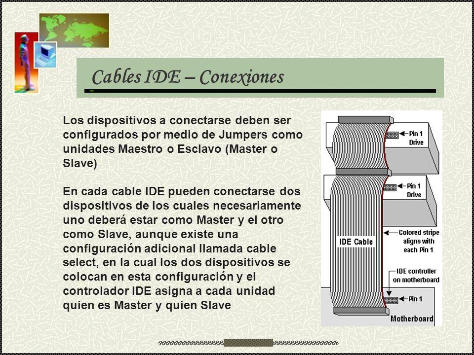 Cables IDE – Conexiones