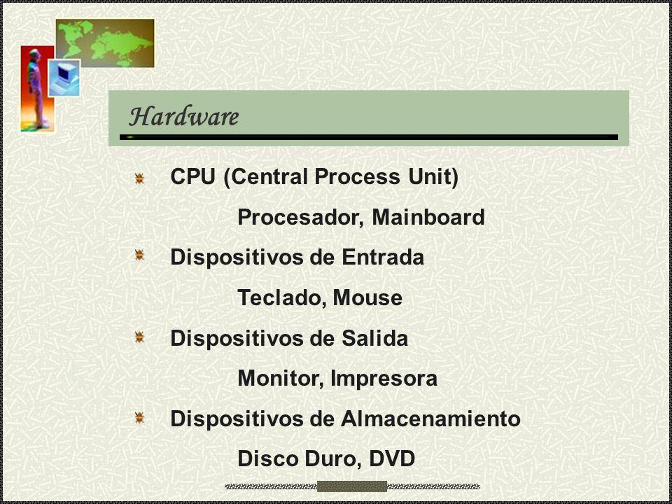 Hardware CPU (Central Process Unit) Procesador, Mainboard