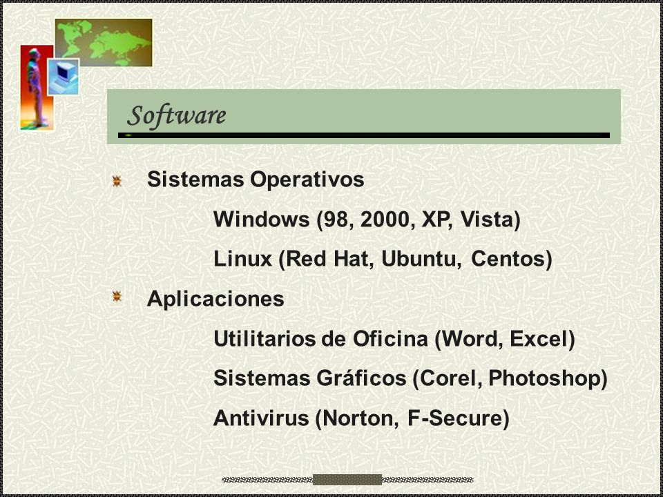 Software Sistemas Operativos Windows (98, 2000, XP, Vista)